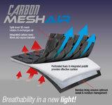 Le Mieux Mesh Carbon Air avec Bridle & Ride Logo _