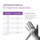 Magic Tack gants en cuir sans patch _