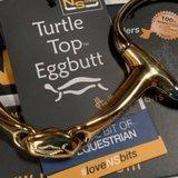 Turtle Top Eggbutt snaffle _