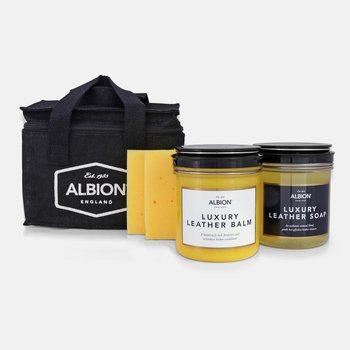 Albion set pour entretien cuir  (5-pièces)