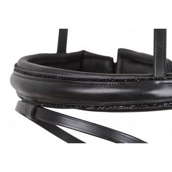Comfort Neusriem avec detail noir crystals SD Design