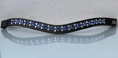 Zizi Frontal Shimmering Star Blue/White mini