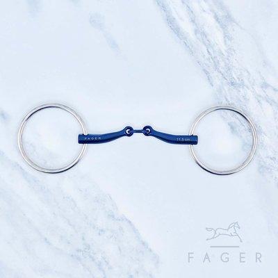 TESTER Carl Filet titanium (Fager)