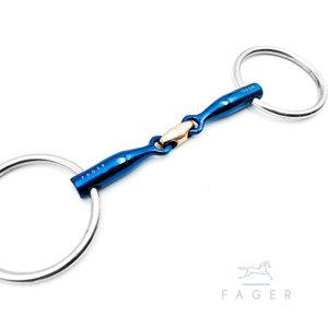 Oscar Filet titanium avec Front Lock (Fager)